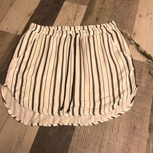 NWOT Bella Dahl Striped Skirt